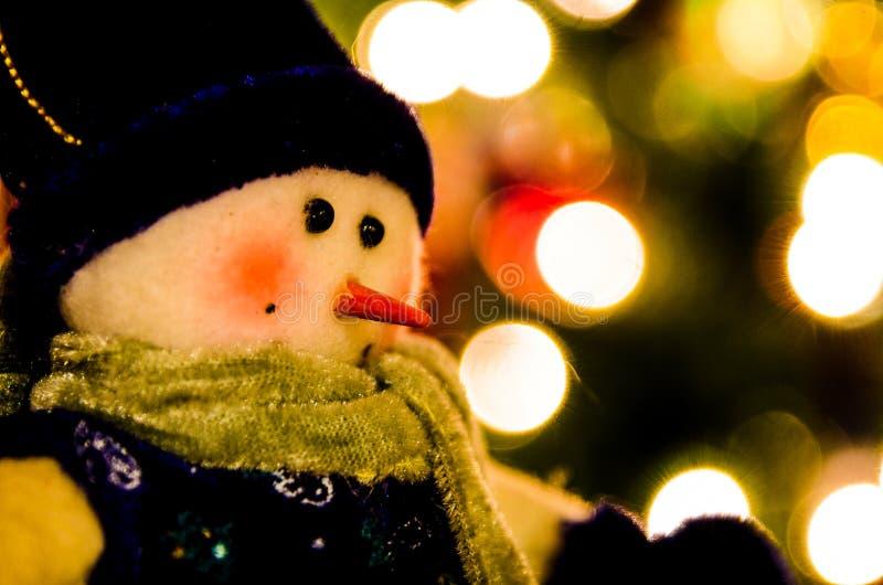 santa christmas dolls decoration statue lighting closeup background royalty free stock images