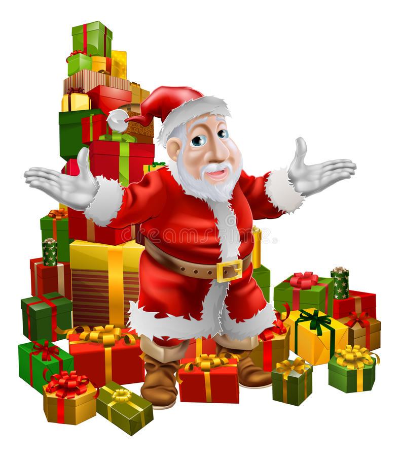 Santa and Christmas Gifts