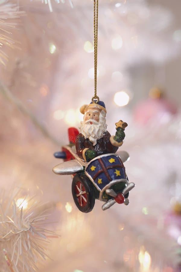 Santa Christmas Ornaments royalty free stock images