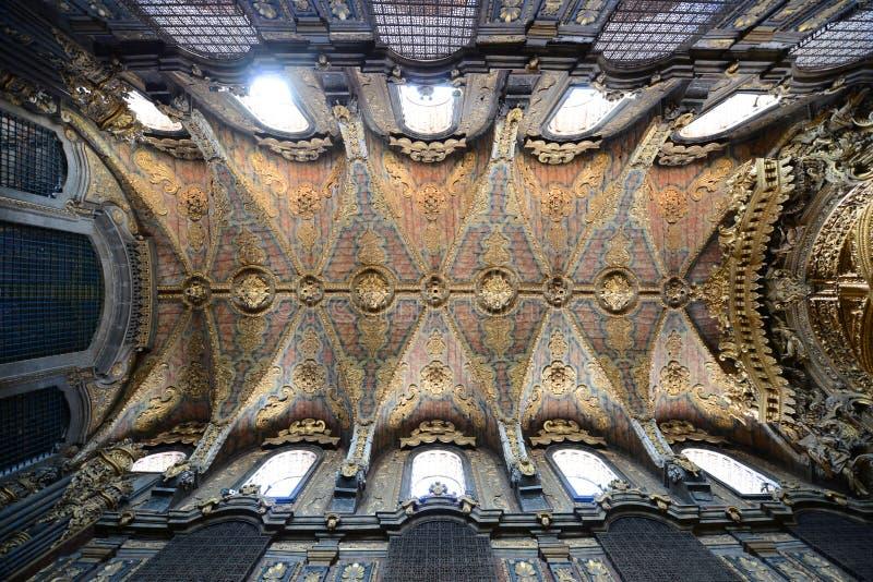 Santa Clara Church, Oporto, Portugal imagen de archivo libre de regalías