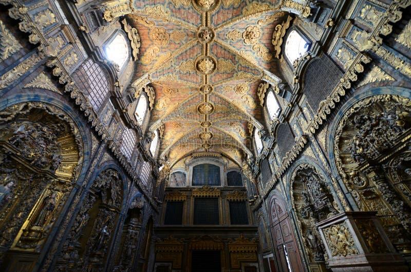 Santa Clara Church, Porto, Portugal photographie stock libre de droits