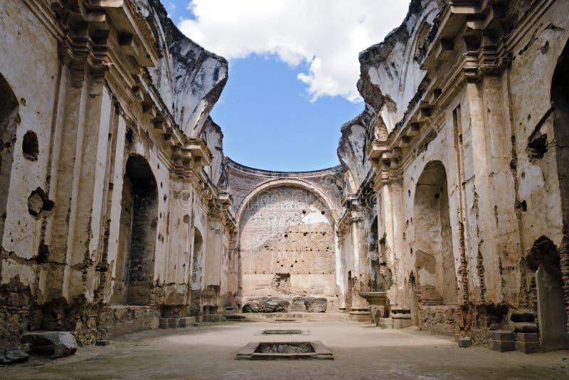 Santa Clara Convent. Ruins of the convent of Santa Clara in Antigua, Guatemala stock images