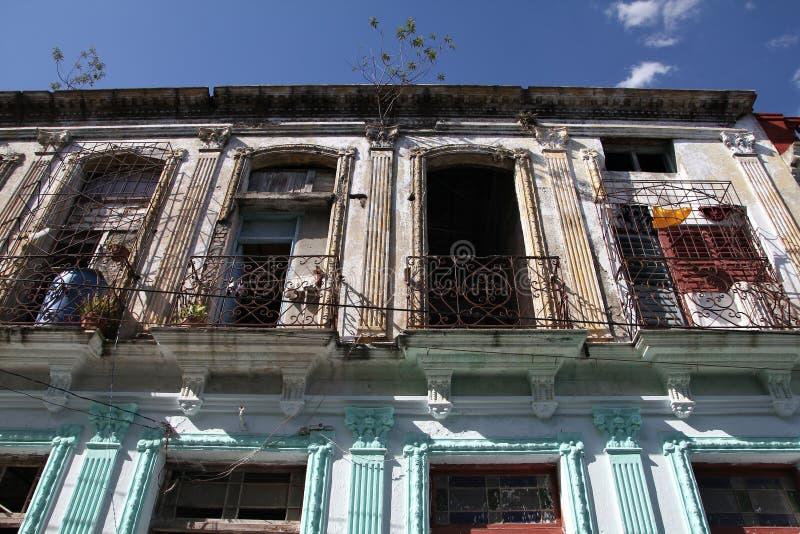 Santa Clara, Cuba. Architecture in Santa Clara, Cuba. Colonial buildings stock photos