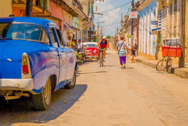 SANTA CLARA, CUBA - 8 DE SEPTIEMBRE DE 2015: Ver fotografía de archivo