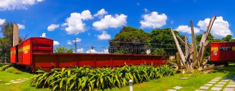 SANTA CLARA, CUBA - 8 SETTEMBRE 2015: Questo treno immagini stock
