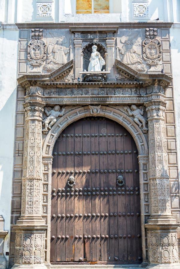 Santa Clara de Assisi kościół fotografia stock