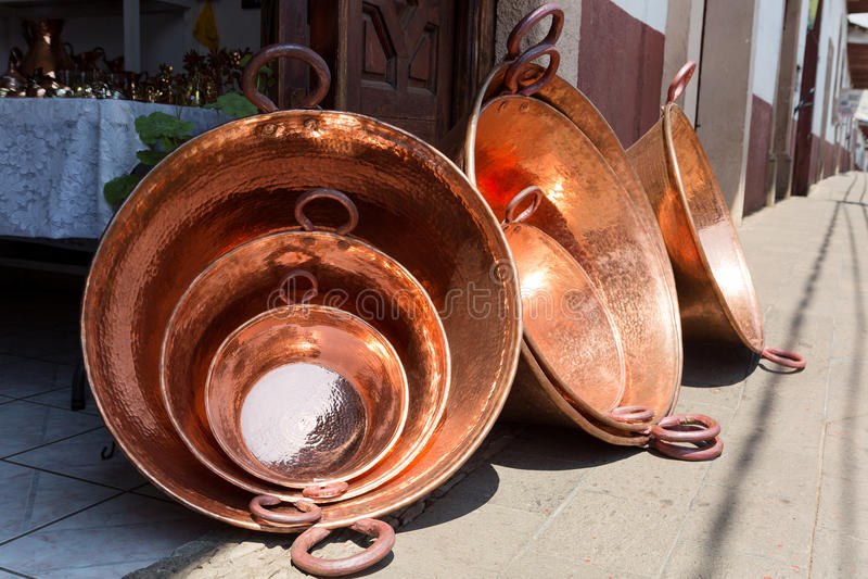 Santa Clara Del Cobre, Meksyk obraz stock