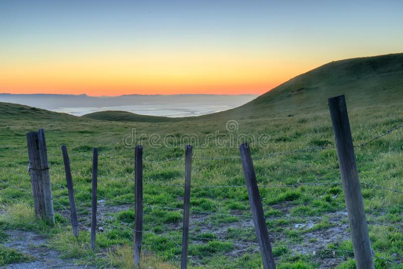 Santa Clara doliny natura obraz stock