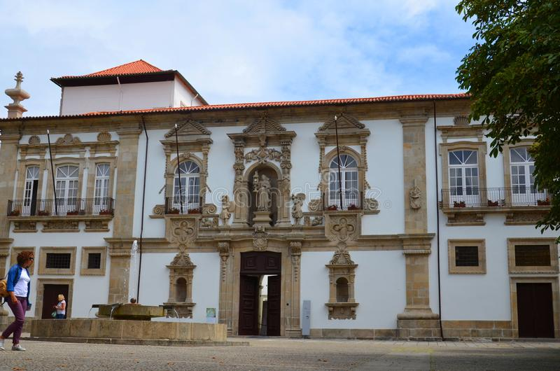 Santa Clara, Guimaraes, região norte, Portugal imagens de stock