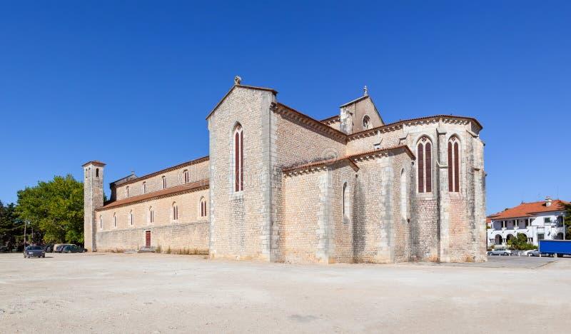 Santa Clara kościół w mieście Santarem zdjęcia royalty free