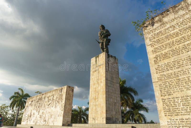 Santa Clara, Kuba, Styczeń 6, 2017: Che Guevara zabytek od outdoors w Santa Clara zdjęcie royalty free