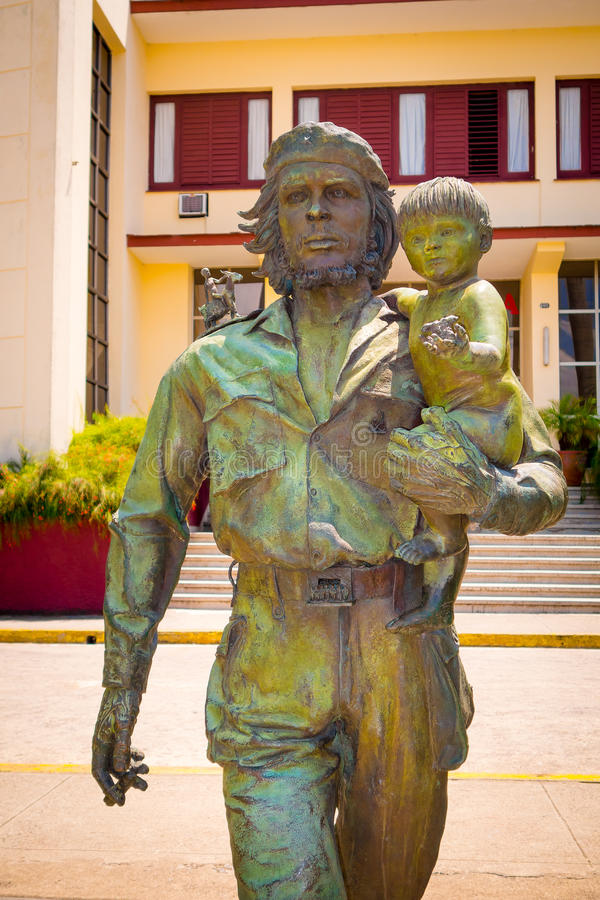 SANTA CLARA KUBA, WRZESIEŃ, - 5, 2015: Che Guevara fotografia royalty free
