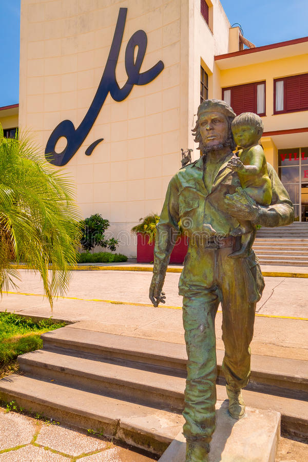SANTA CLARA KUBA, WRZESIEŃ, - 5, 2015: Che Guevara fotografia stock