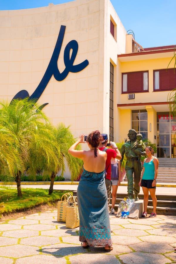 SANTA CLARA KUBA, WRZESIEŃ, - 5, 2015: Che Guevara obraz stock