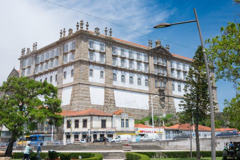 Santa Clara Monastery i Vila do Conde, Portugal royaltyfri bild