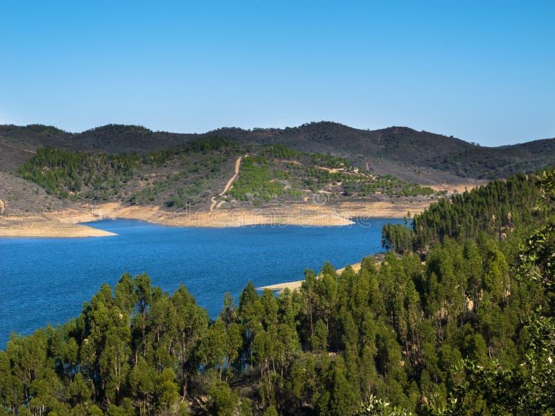 Santa Clara tama w Alentejo Portugalia obraz royalty free