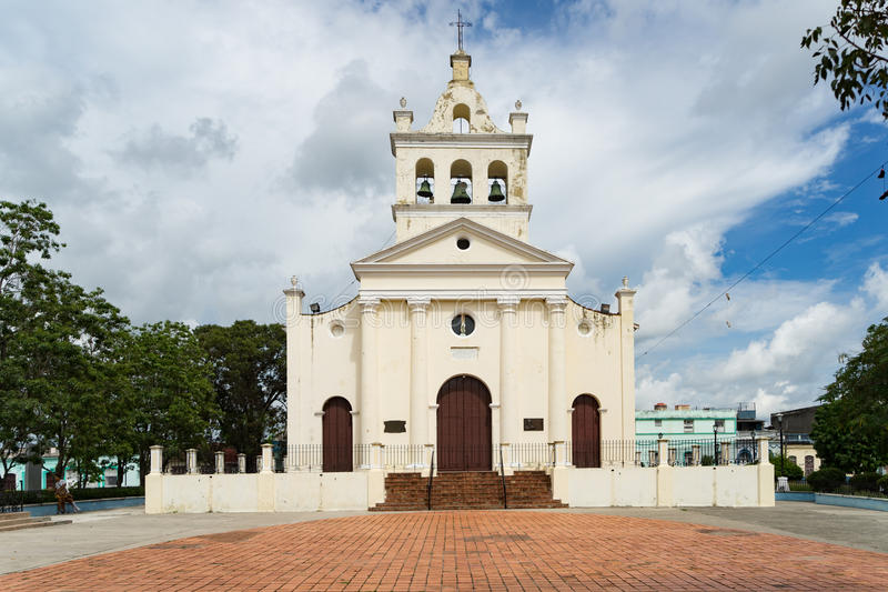 Santa Clara. Views around Santa Clara on the Caribbean Island of Cuba royalty free stock images