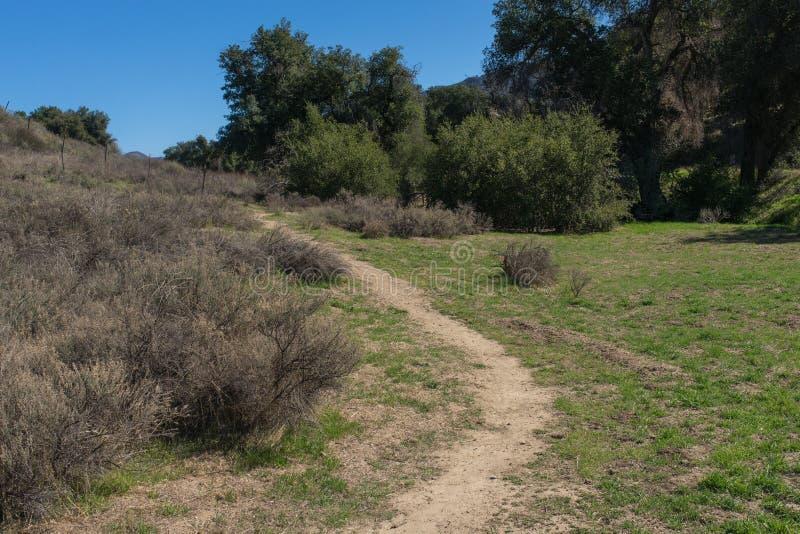 Santa Clarita Nature Preserve royaltyfri bild