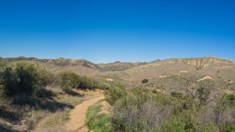Santa Clarita Walking Trail royaltyfria bilder