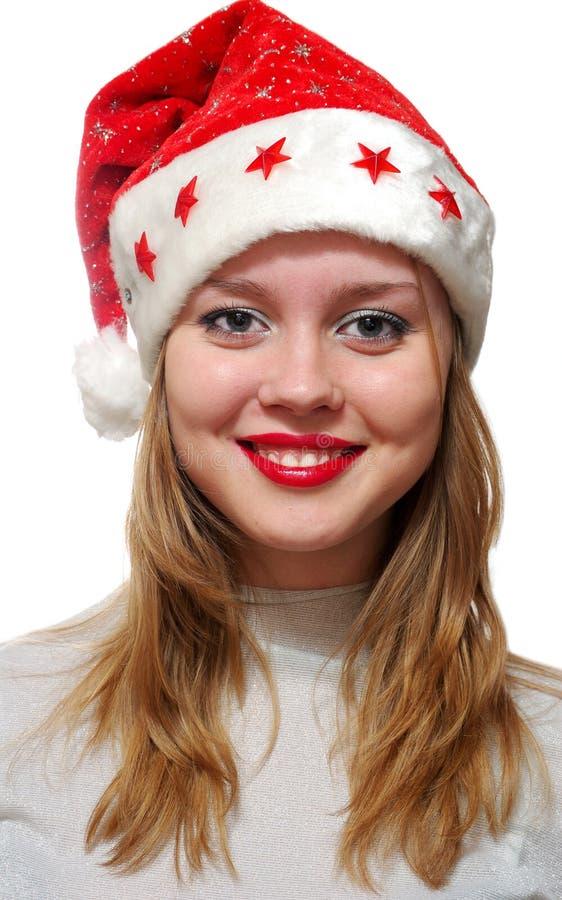 santa Claus που φορά τις νεολαίε&sigmaf στοκ εικόνες με δικαίωμα ελεύθερης χρήσης