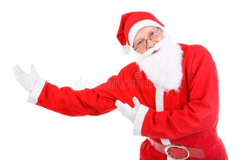 Santa Claus изолировало стоковое фото