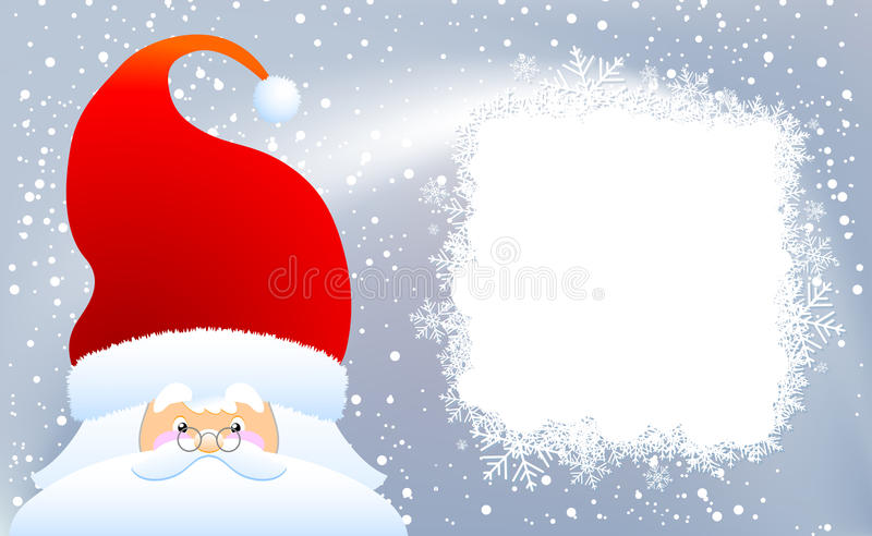 Download Santa Claus stock vector. Image of noel, holiday, copy - 11833633