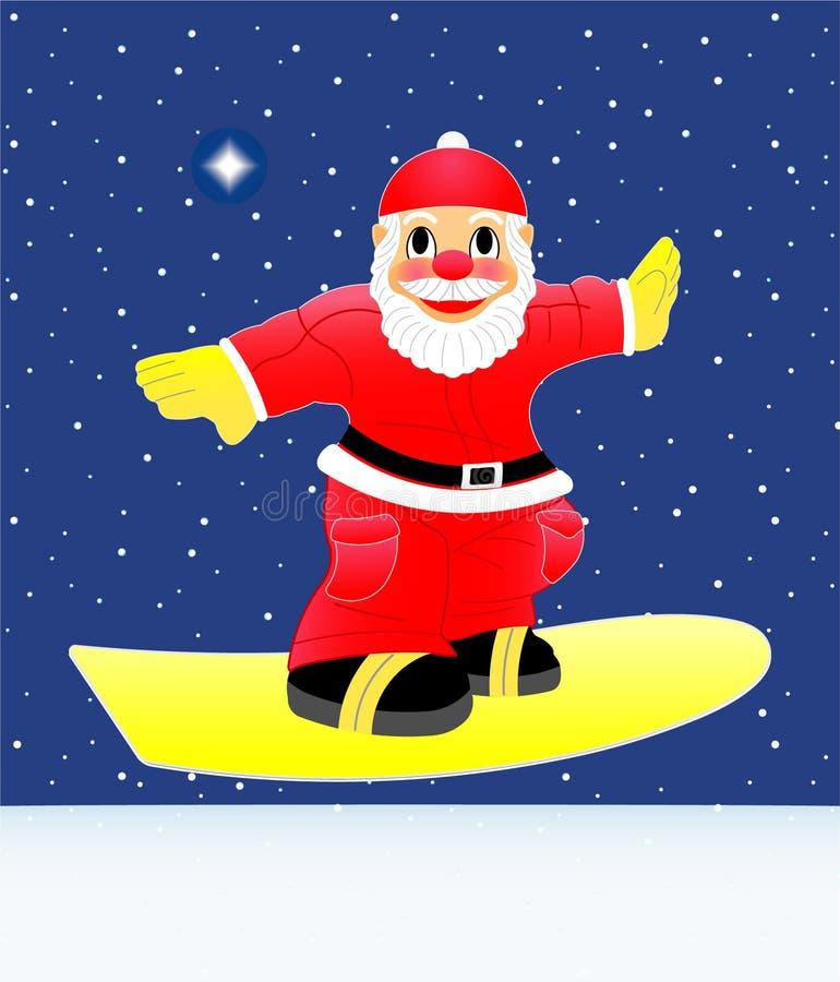 Download Santa Claus stock vector. Image of star, motive, polar - 14162332