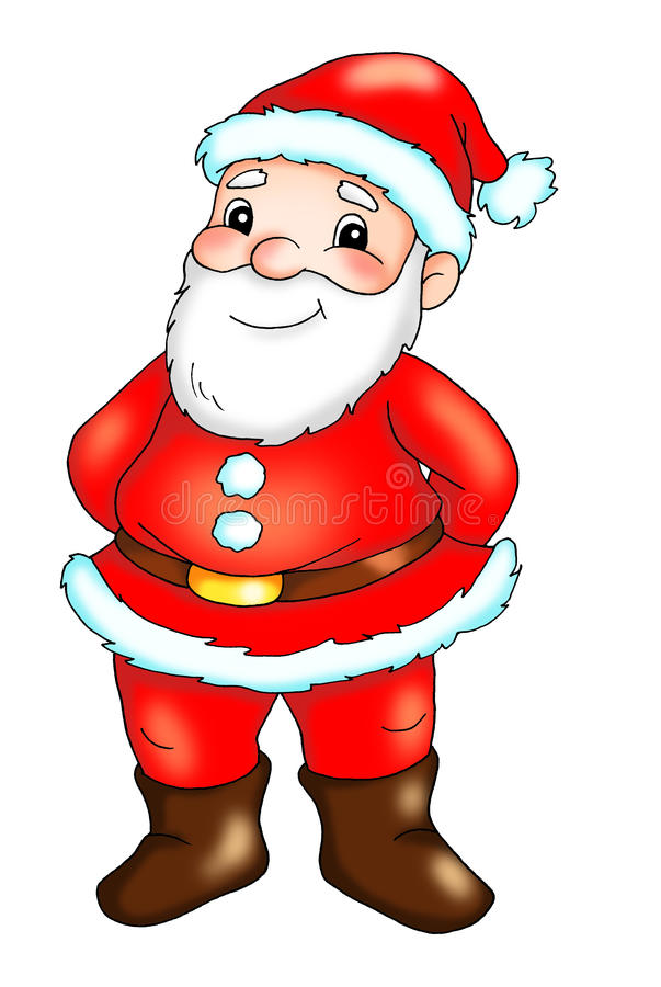 Download Santa Claus stock illustration. Image of background, nice - 16265424