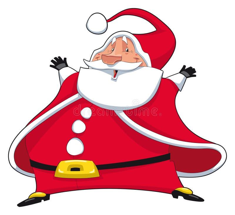 Download Santa Claus. stock vector. Image of love, present, santa - 16555062