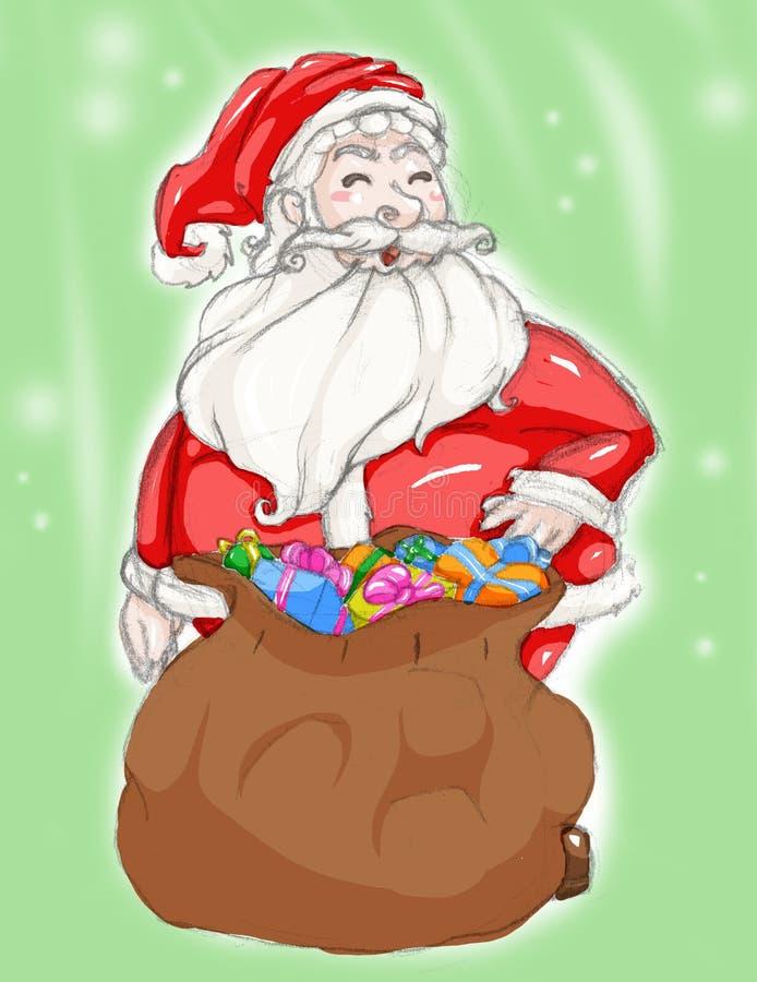 Download Santa claus stock illustration. Illustration of smile - 17041789