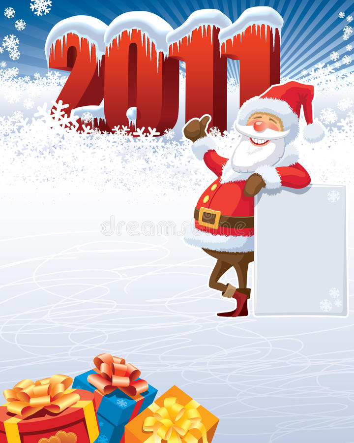 Santa Claus 2011 Stock Photo