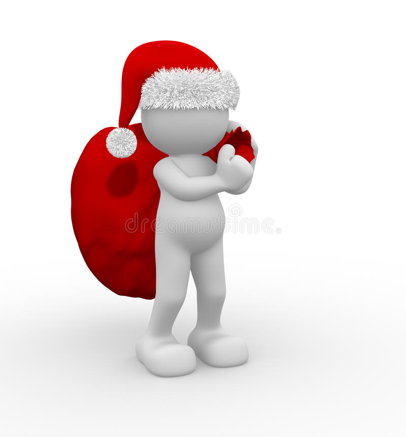 Download Santa Claus stock illustration. Image of carols, background - 21304044