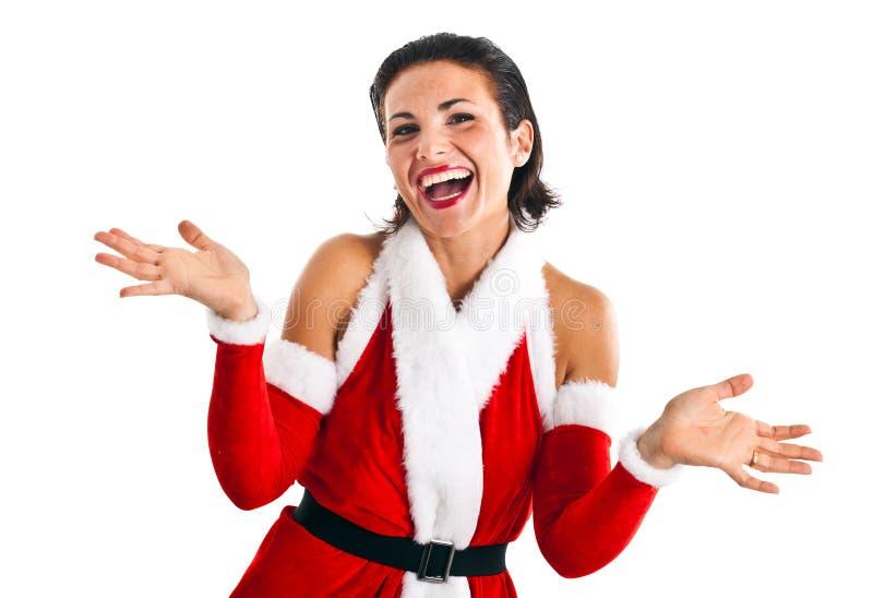 Download Santa Claus stock image. Image of lady, beautiful, claus - 21494809