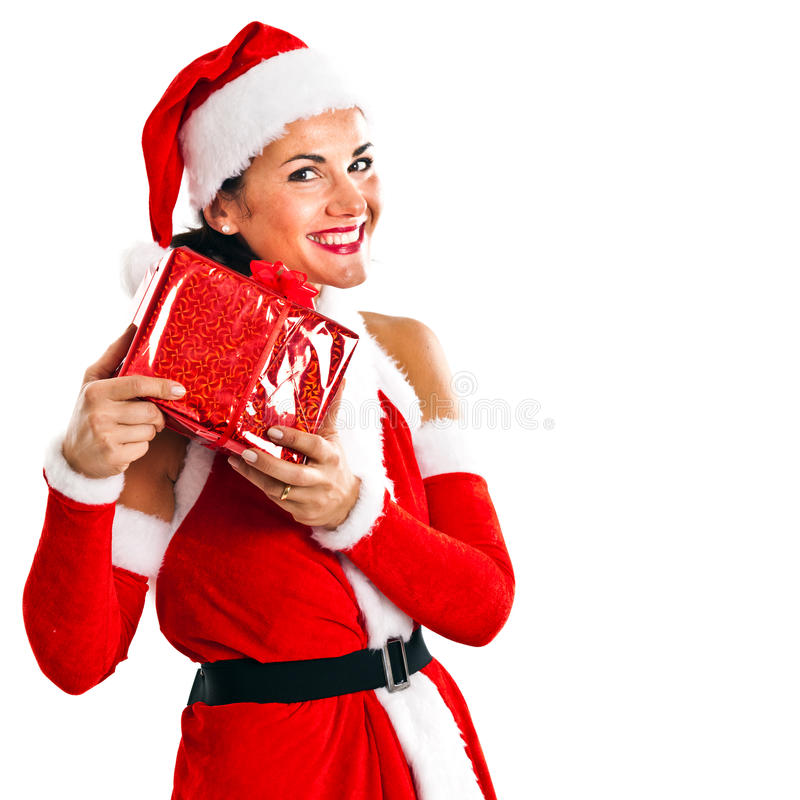 Download Santa Claus stock image. Image of portrait, claus, white - 21596171