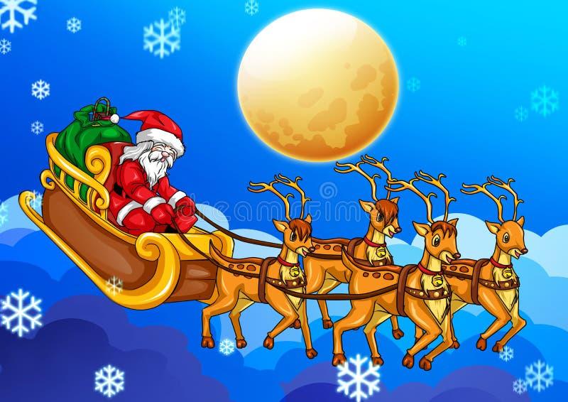 Download Santa Claus stock illustration. Image of icon, magic - 22250381