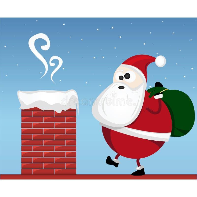 Download Santa Claus stock vector. Image of poster, santa, home - 22293119