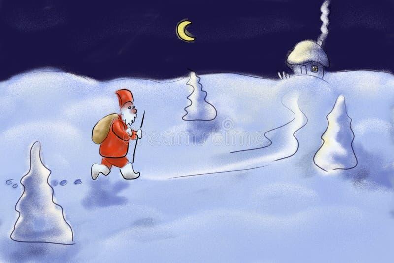 Santa Claus. Design vector illustration