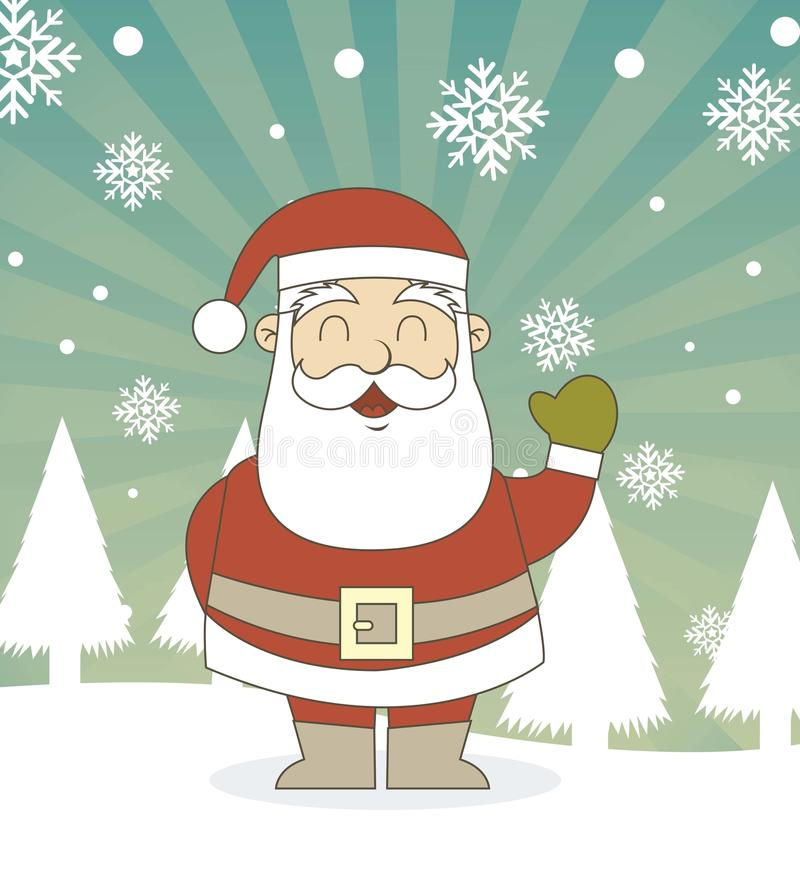 Download Santa claus stock vector. Illustration of merry, holiday - 26405797