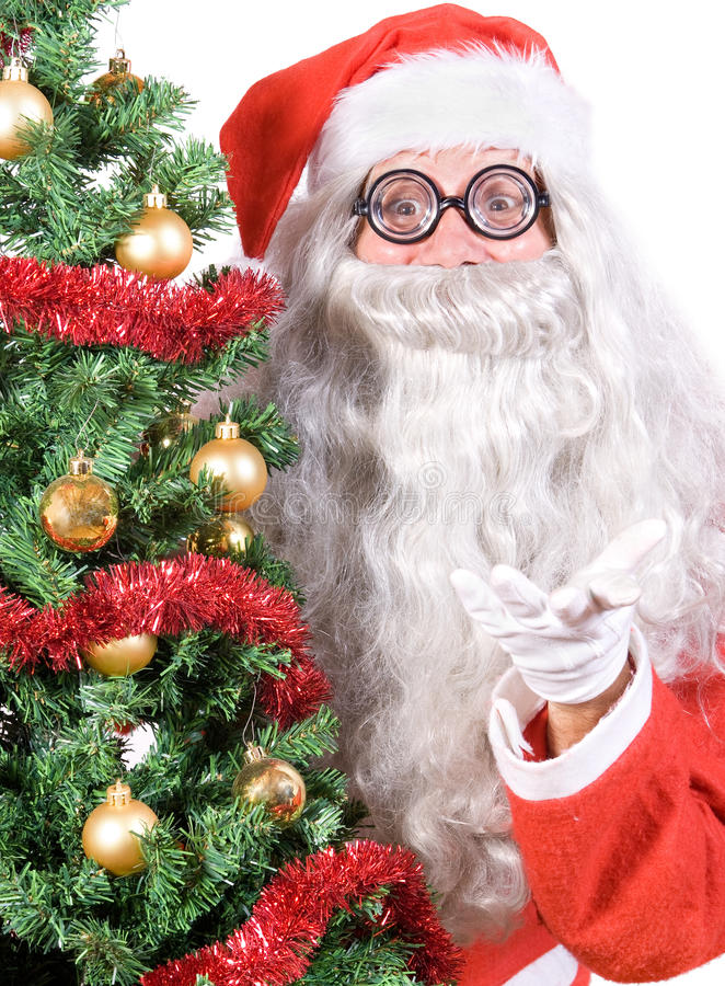 Download Santa Claus stock image. Image of looking, hand, season - 26699035