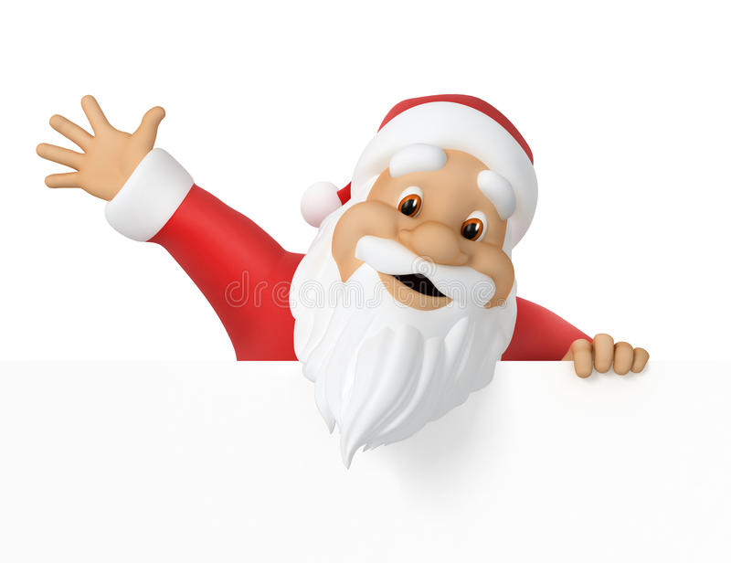Download Santa Claus stock illustration. Image of abstact, hand - 26928094