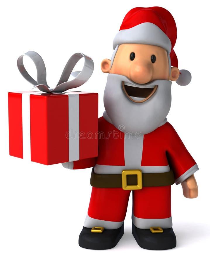 Download Santa Claus stock illustration. Image of laugh, green - 26929975