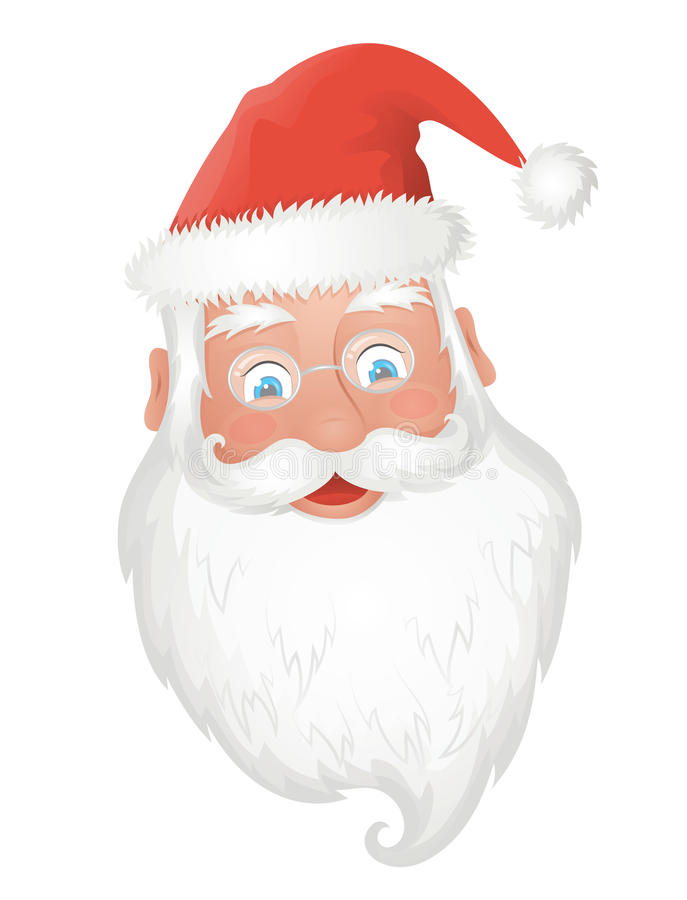 Download Santa Claus. stock illustration. Image of part, fluffy - 27666021