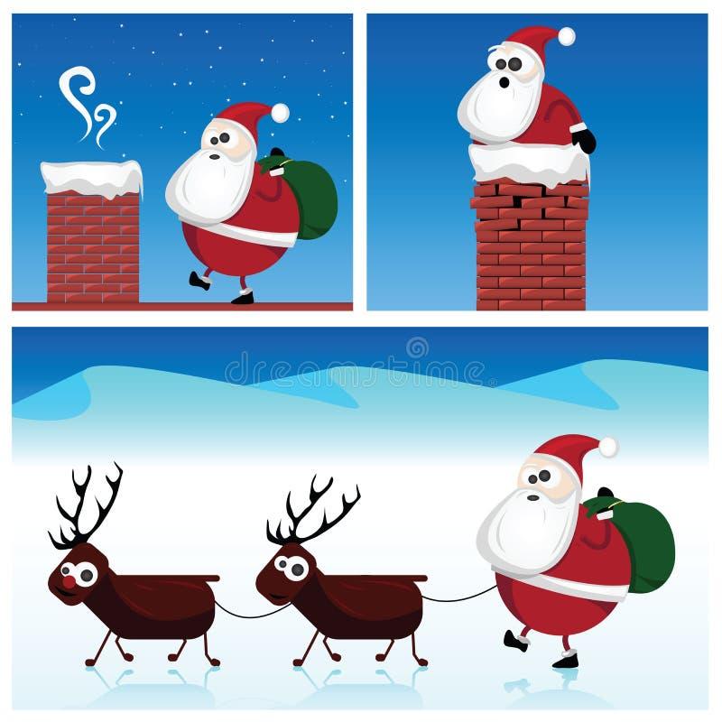 Download Santa Claus stock vector. Illustration of comic, antler - 28109100