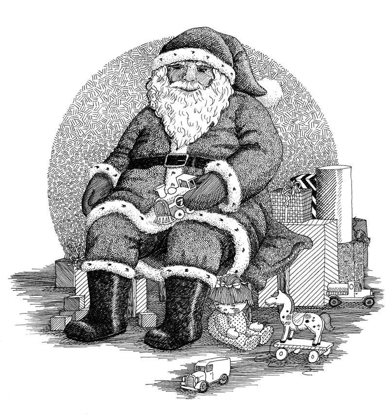 Free Santa Claus Royalty Free Stock Photo - 28470145