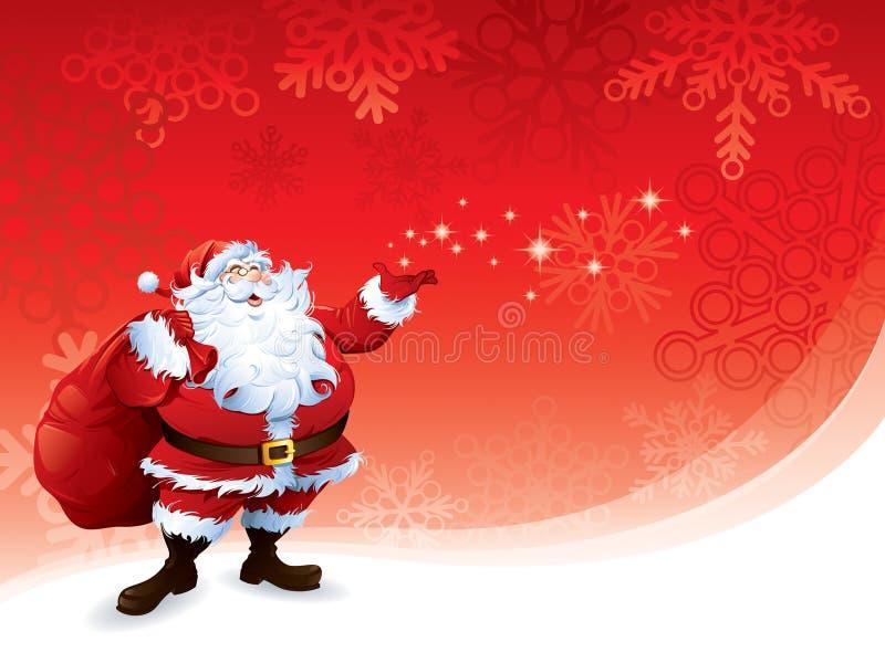 Santa Claus stock de ilustración