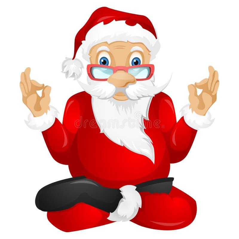 Santa Claus ilustración del vector