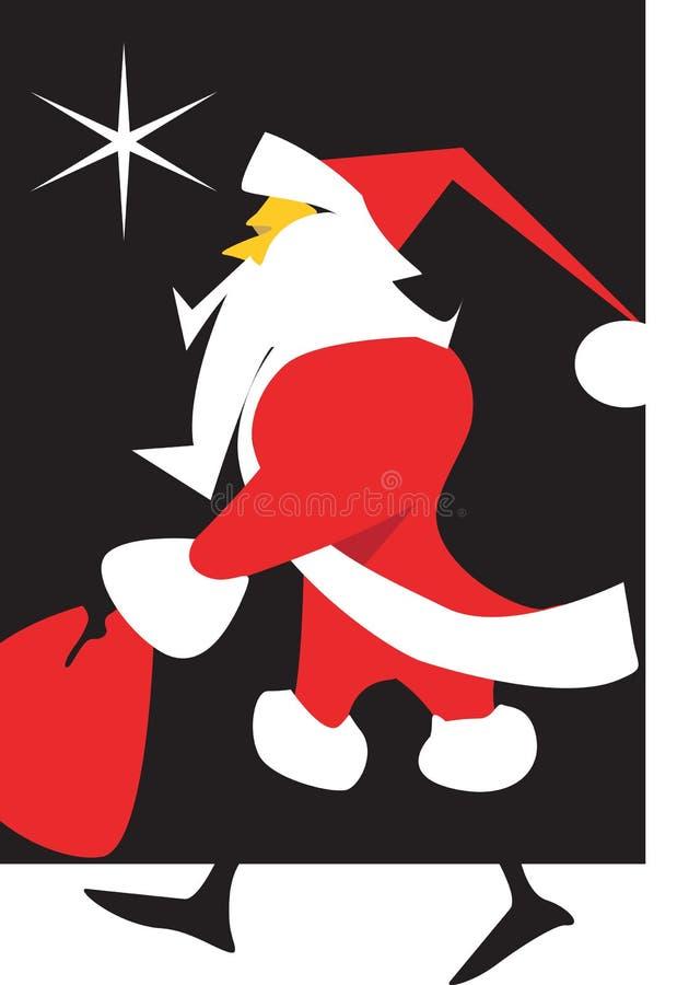 Santa Claus иллюстрация вектора