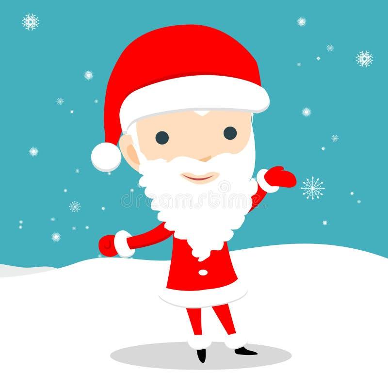Santa Claus royalty illustrazione gratis