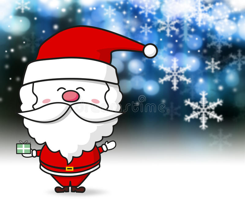 Santa Claus royalty illustrazione gratis