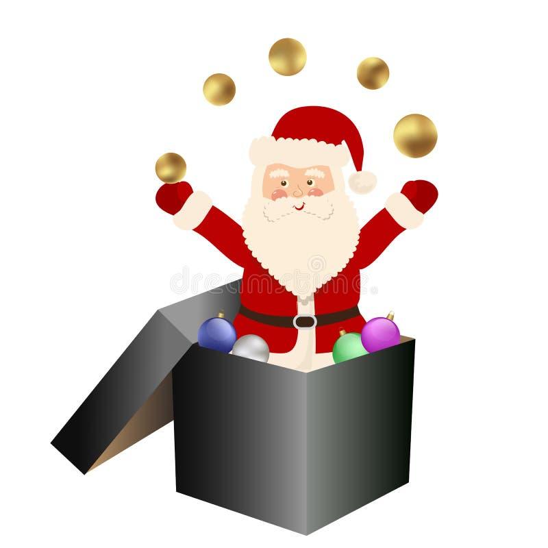 Santa Claus ilustração stock